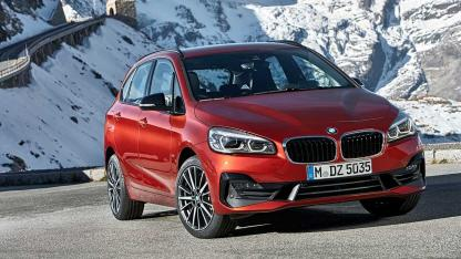 BMW 2er Active Tourer 2018 - Frontansicht