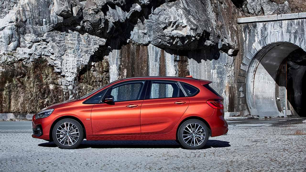 BMW 2er Active Tourer 2018 - Seitenansicht