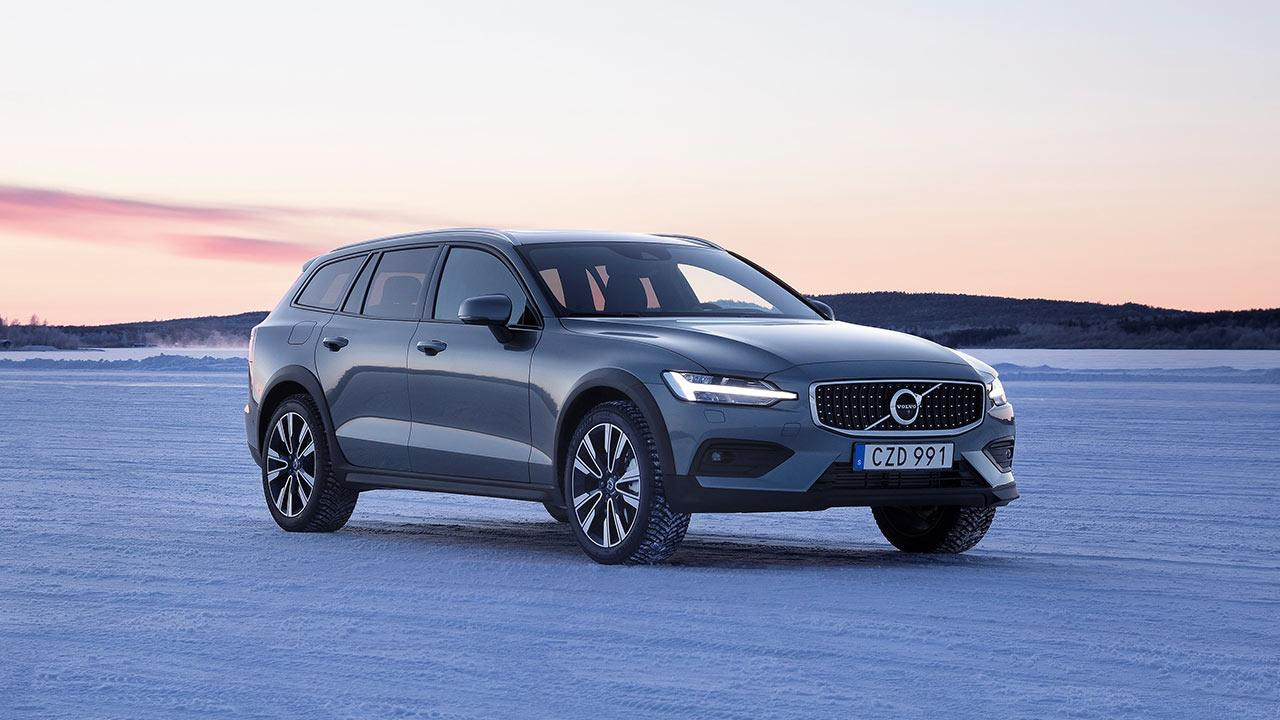 Volvo V60 Cross Country - auf dem Eis