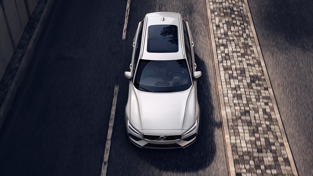 Volvo V60 Cross Country - Vogelperspektive