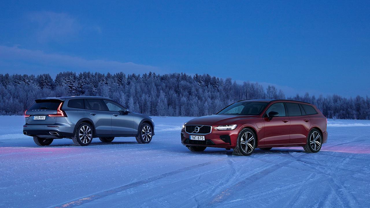Volvo V60 - 2 Farben