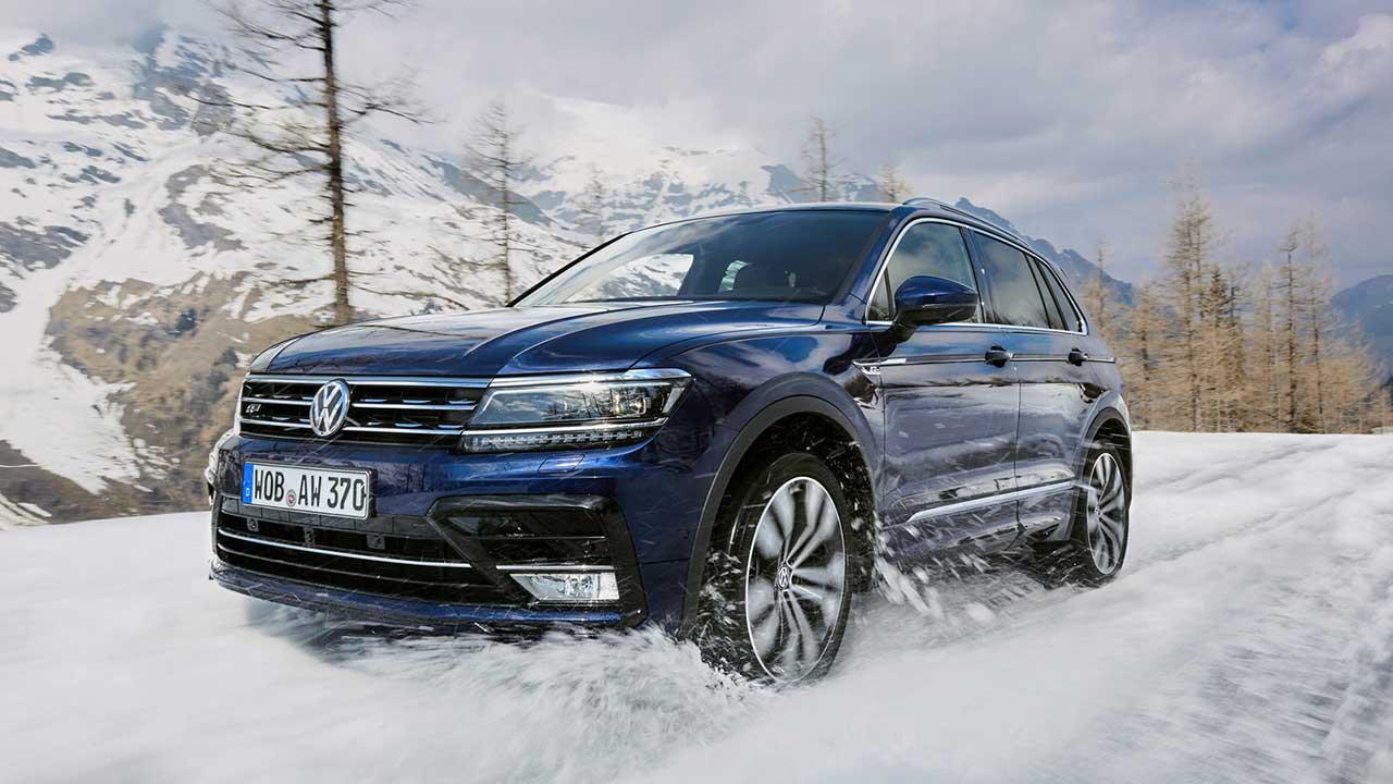 Volkswagen Tiguan - im Schnee