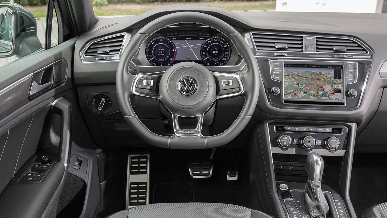 Volkswagen Tiguan - Cockpit