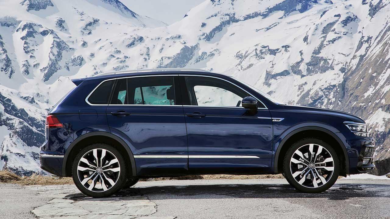 Volkswagen Tiguan - Seitenansicht