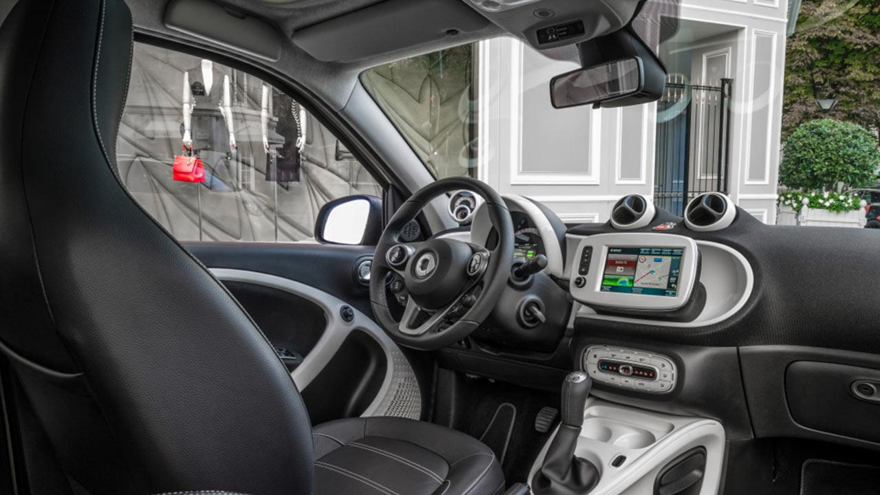 Smart Forfour - Cockpit