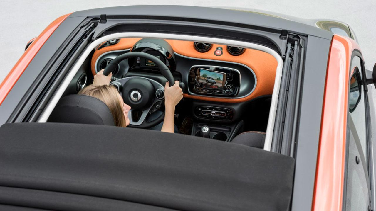 Smart Forfour - offenes Verdeck