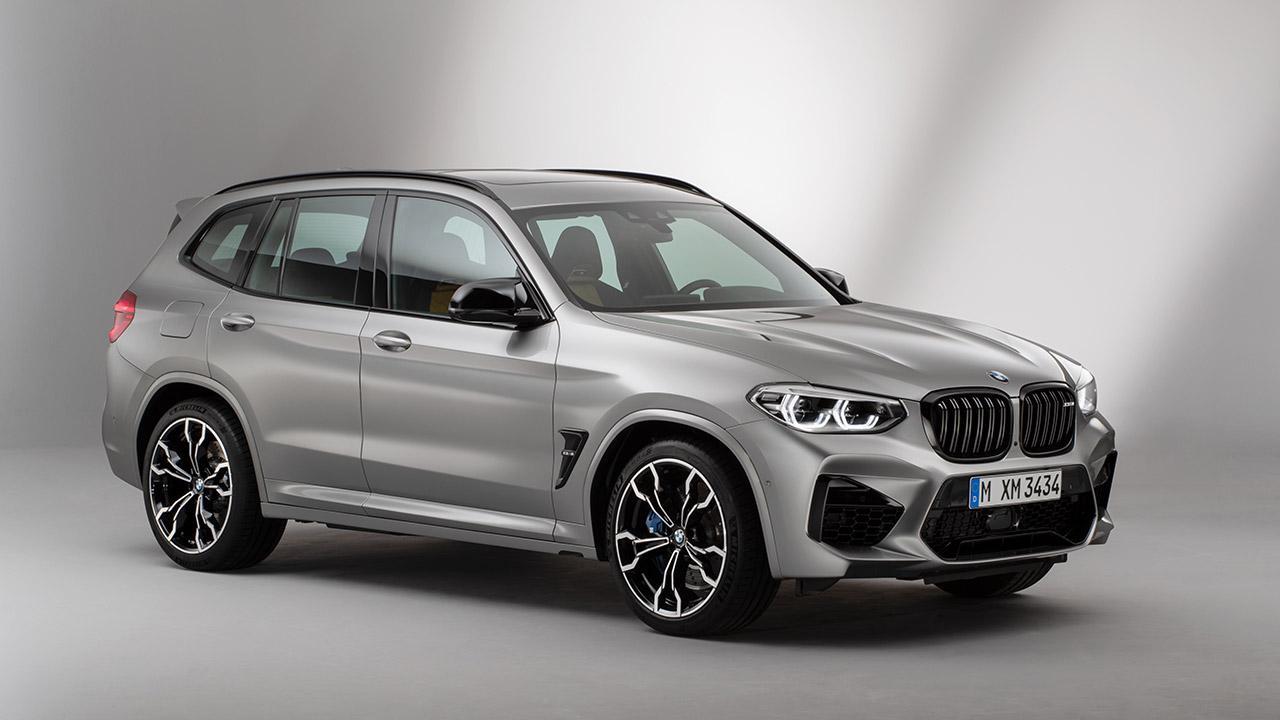 BMW X3 M (2019) - Seitenansicht