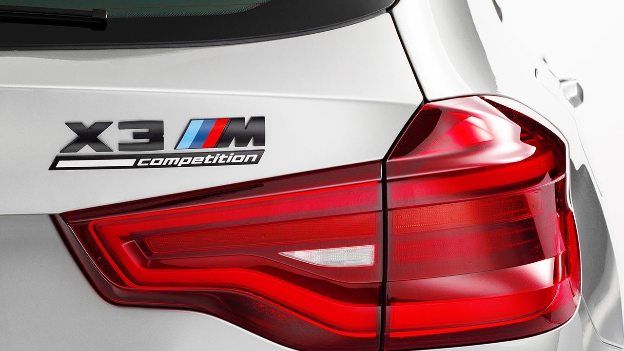 BMW X3 M (2019) - Schriftzug