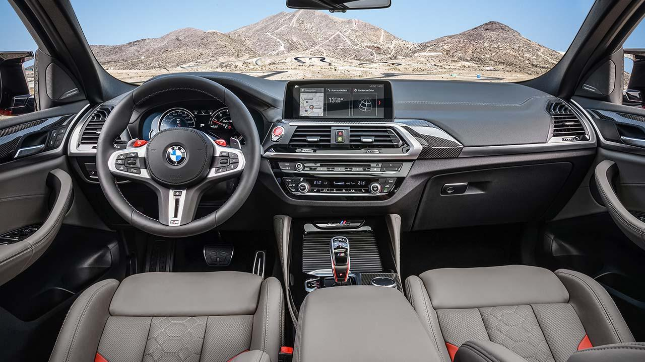 BMW X4 M - Cockpit