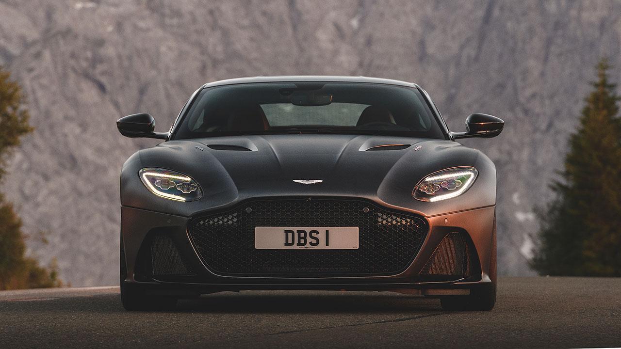 Aston Martin DBS Superleggera - Frontansicht