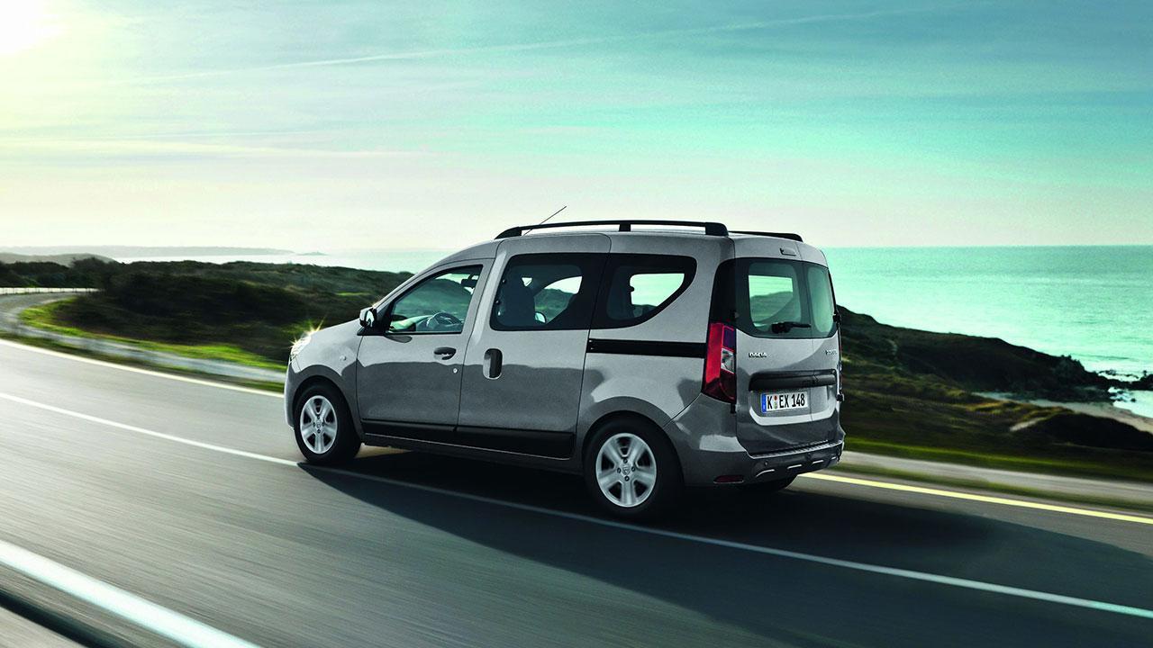 Dacia Dokker Stepway - voller Fahrt
