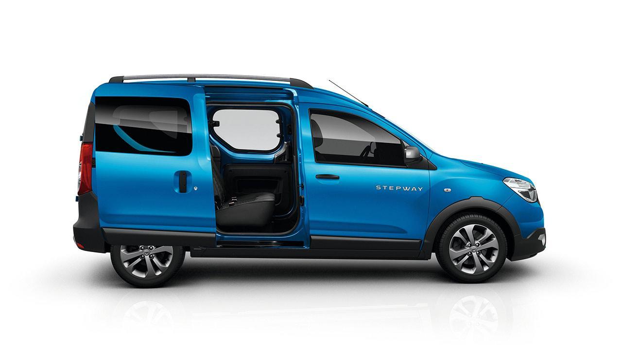 Dacia Dokker Stepway - mit offenen Türen