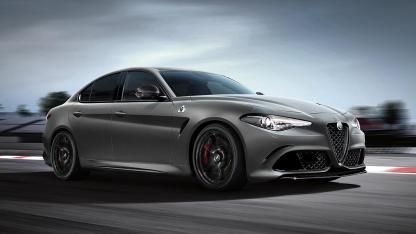 Alfa Romeo Giulia Quadrifoglio - Seitenansicht