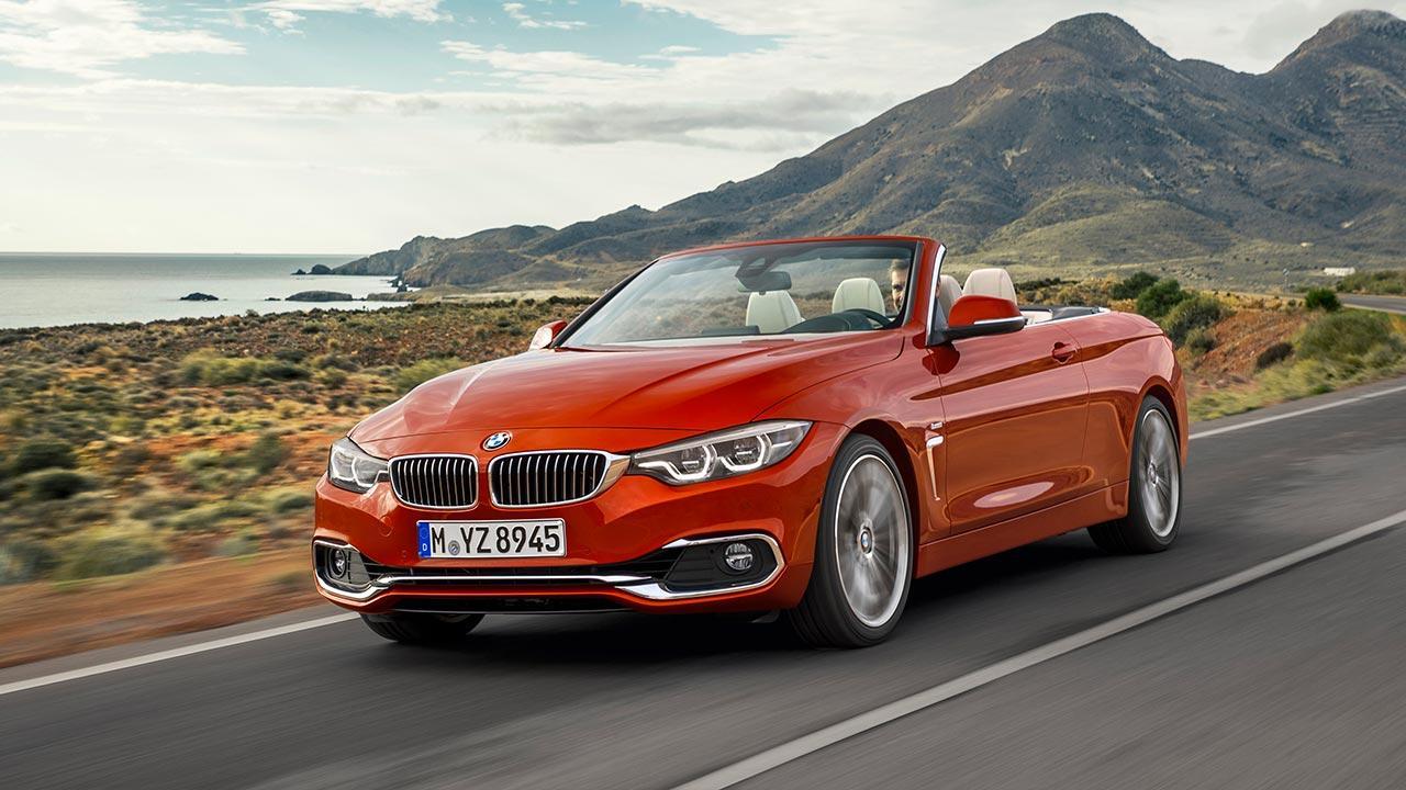 BMW 4er 2017 - Cabrio Frontansicht