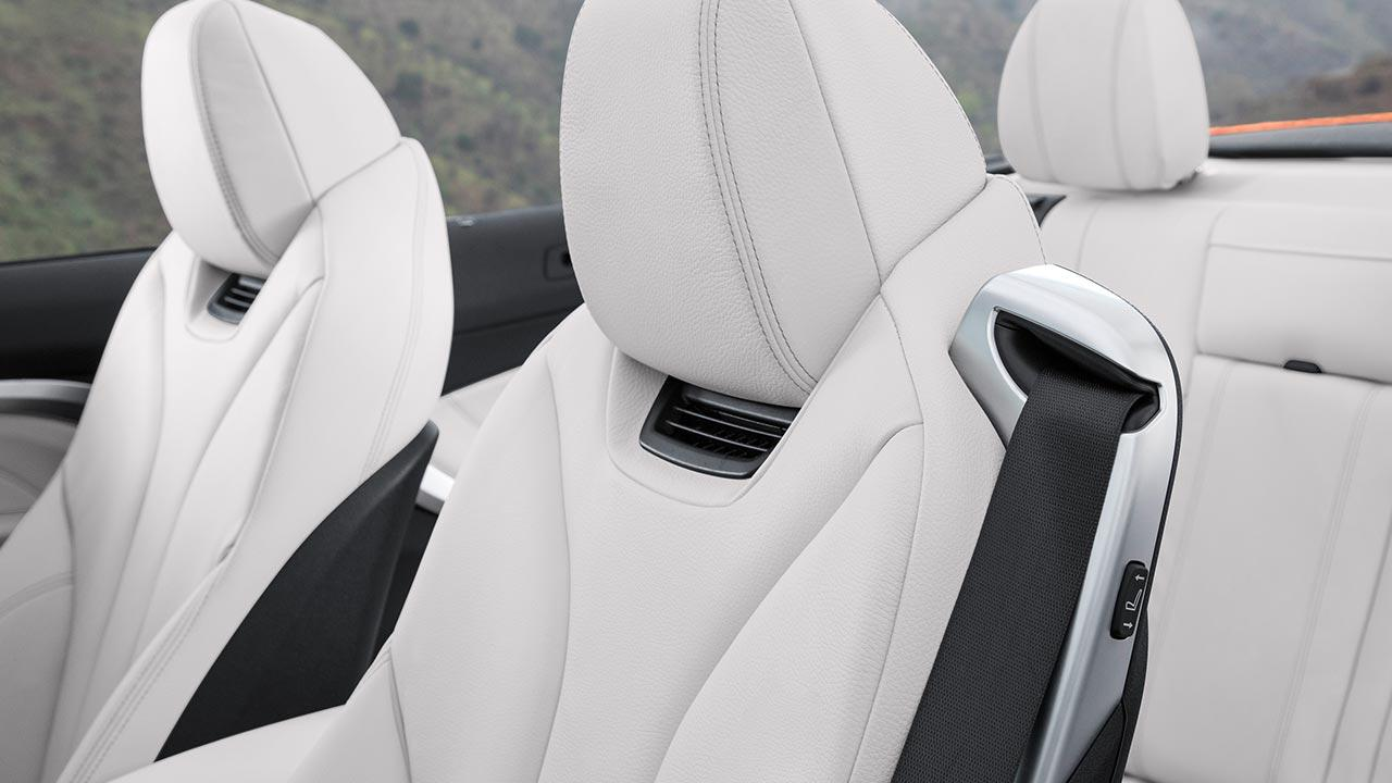 BMW 4er 2017 - Sitze