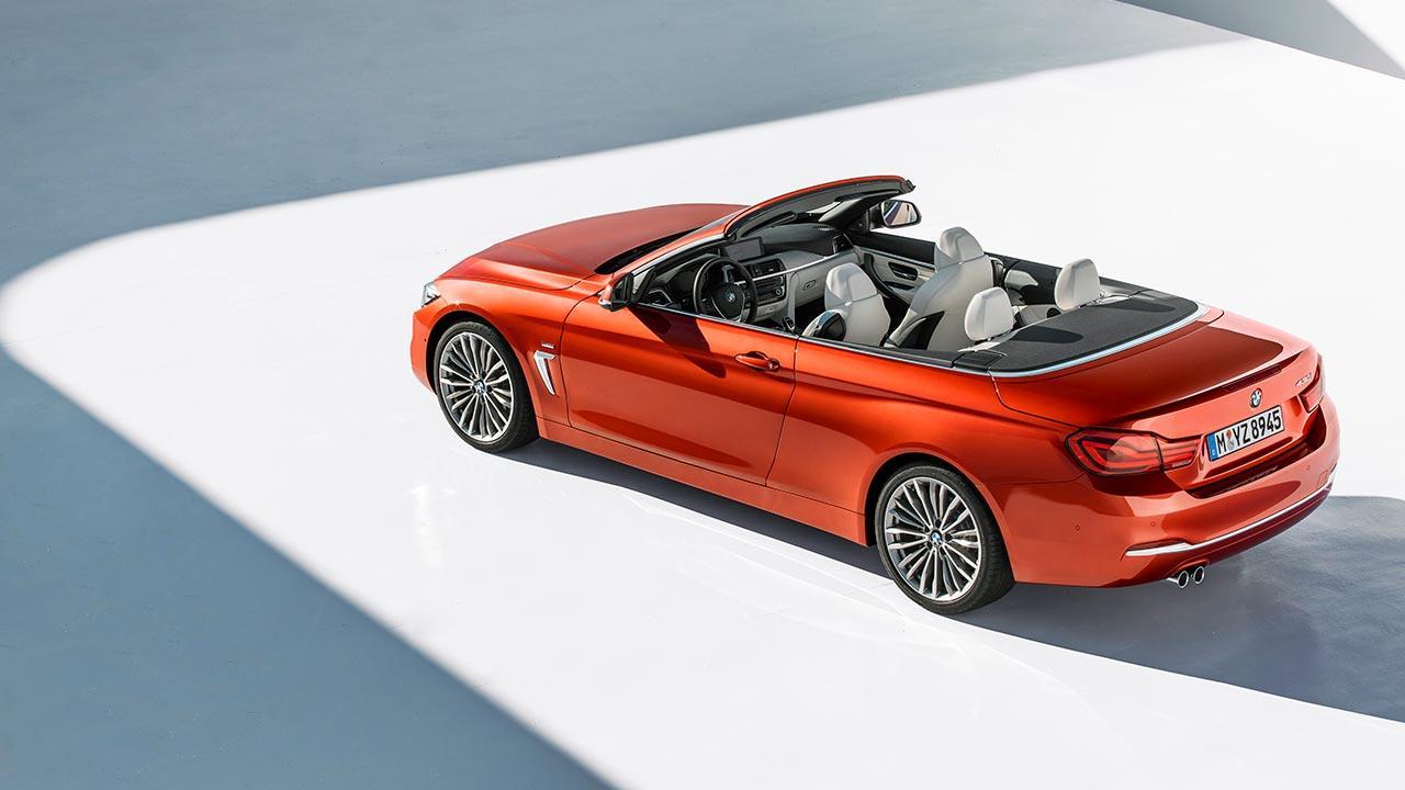 BMW 4er 2017 - Cabrio offen
