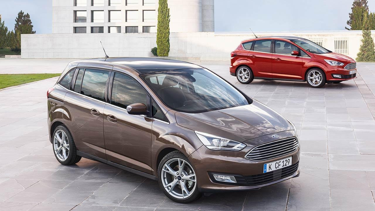 Ford Grand C-Max - 2 Farben