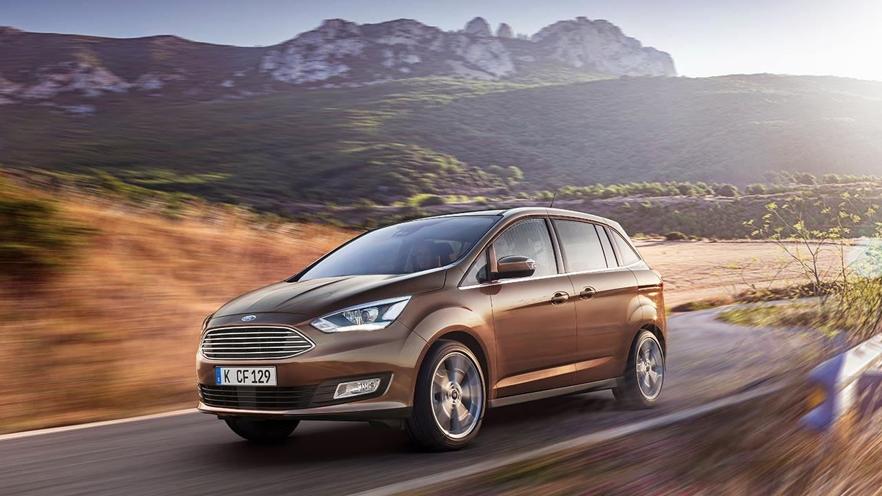 Ford Grand C-Max - in voller Fahrt