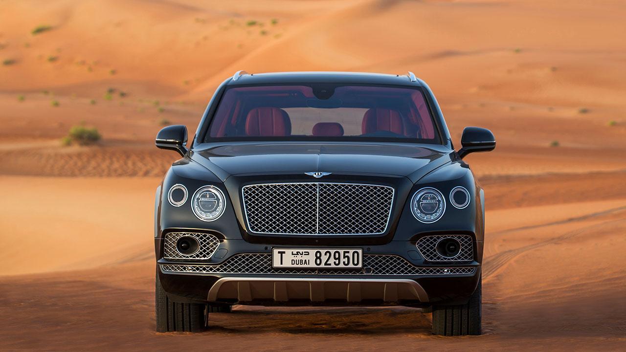 Bentley Bentayga - Frontansicht