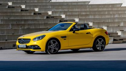 Mercedes SLC Final Edition - Seitenansicht