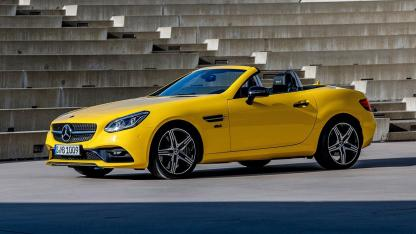 Mercedes-AMG SLC 43 Final Edition - Seitenansicht