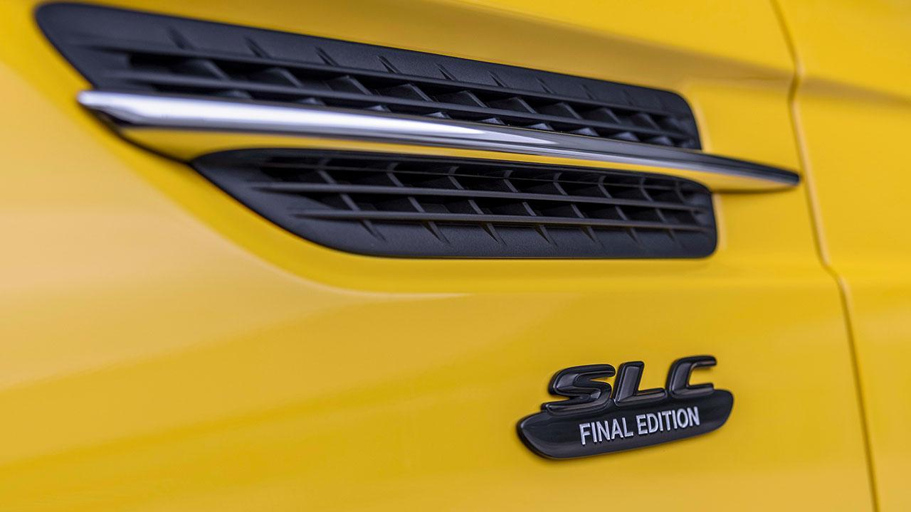 Mercedes-AMG SLC 43 Final Edition - Schriftzug
