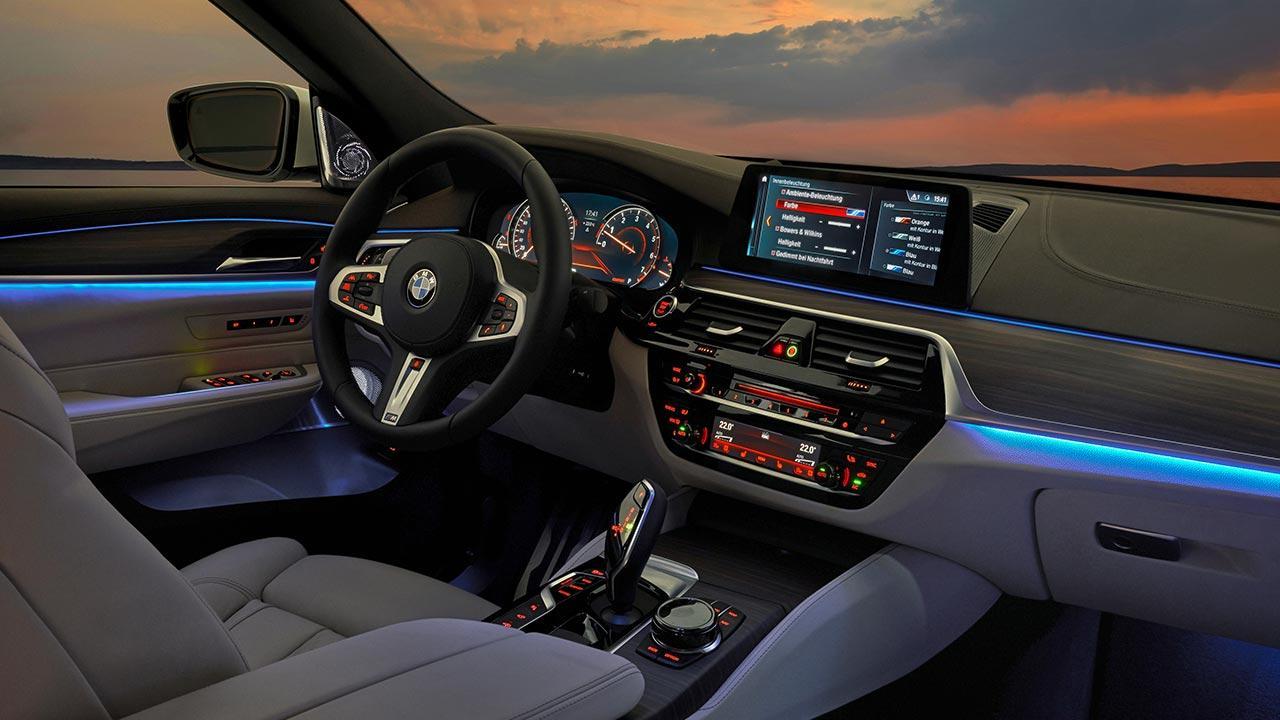 BMW 6er Gran Turismo 2017 - Cockpit