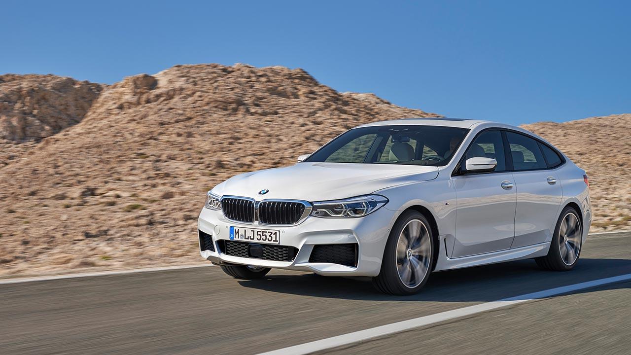 BMW 6er Gran Turismo 2017 - Frontansicht