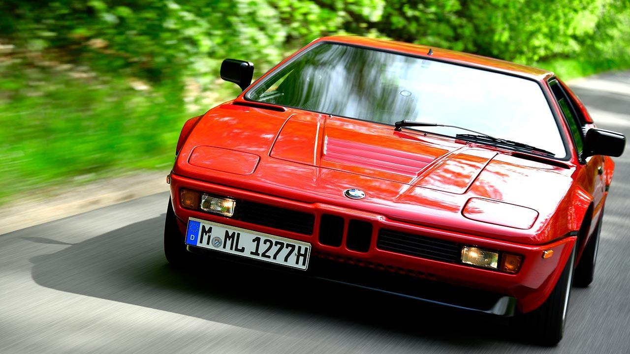 BMW M1 - Frontansicht