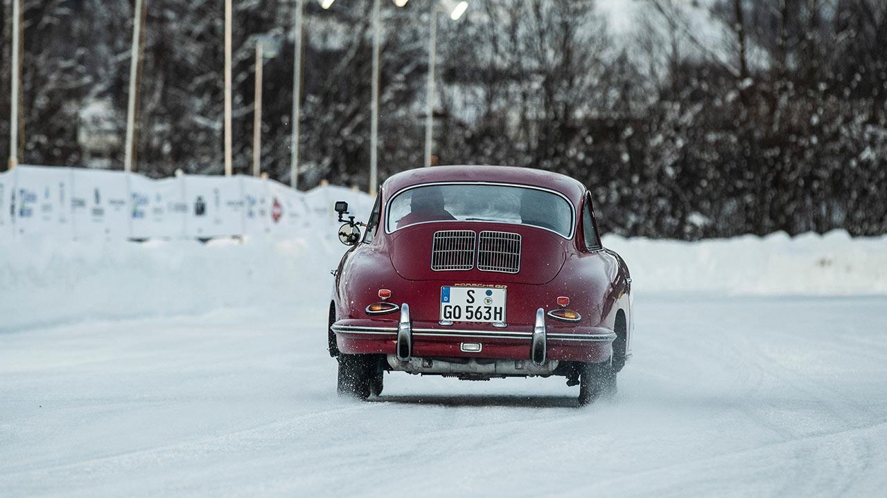 Porsche 356 B - Heckansicht