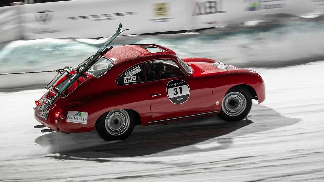 Porsche 356 B - auf der Rennstrecke