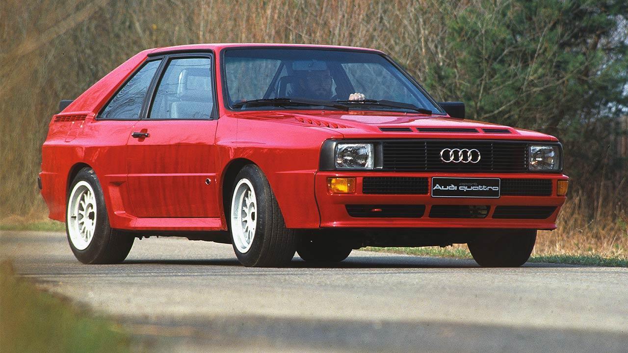 Audi (Ur)quattro - Sport