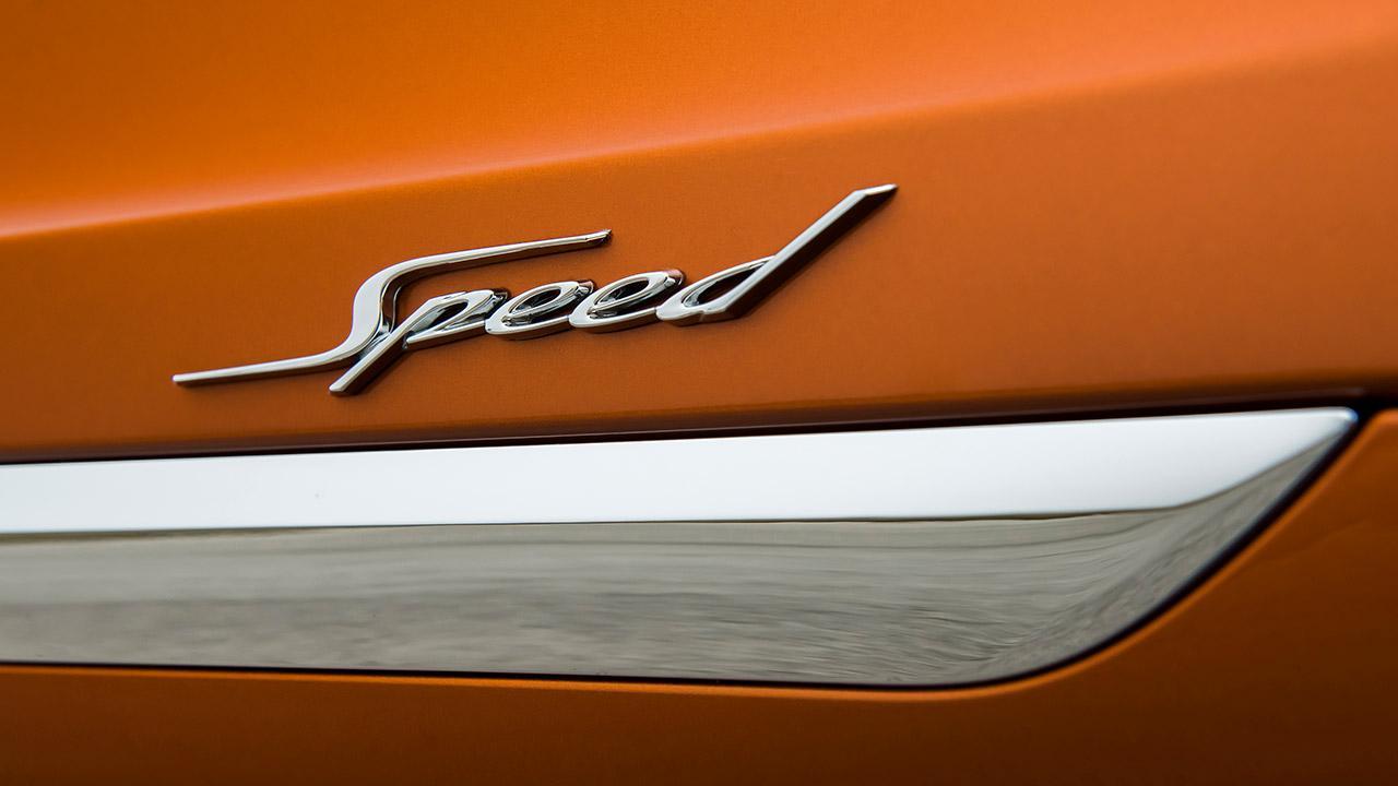 Bentley Bentayga Speed - Schriftzug