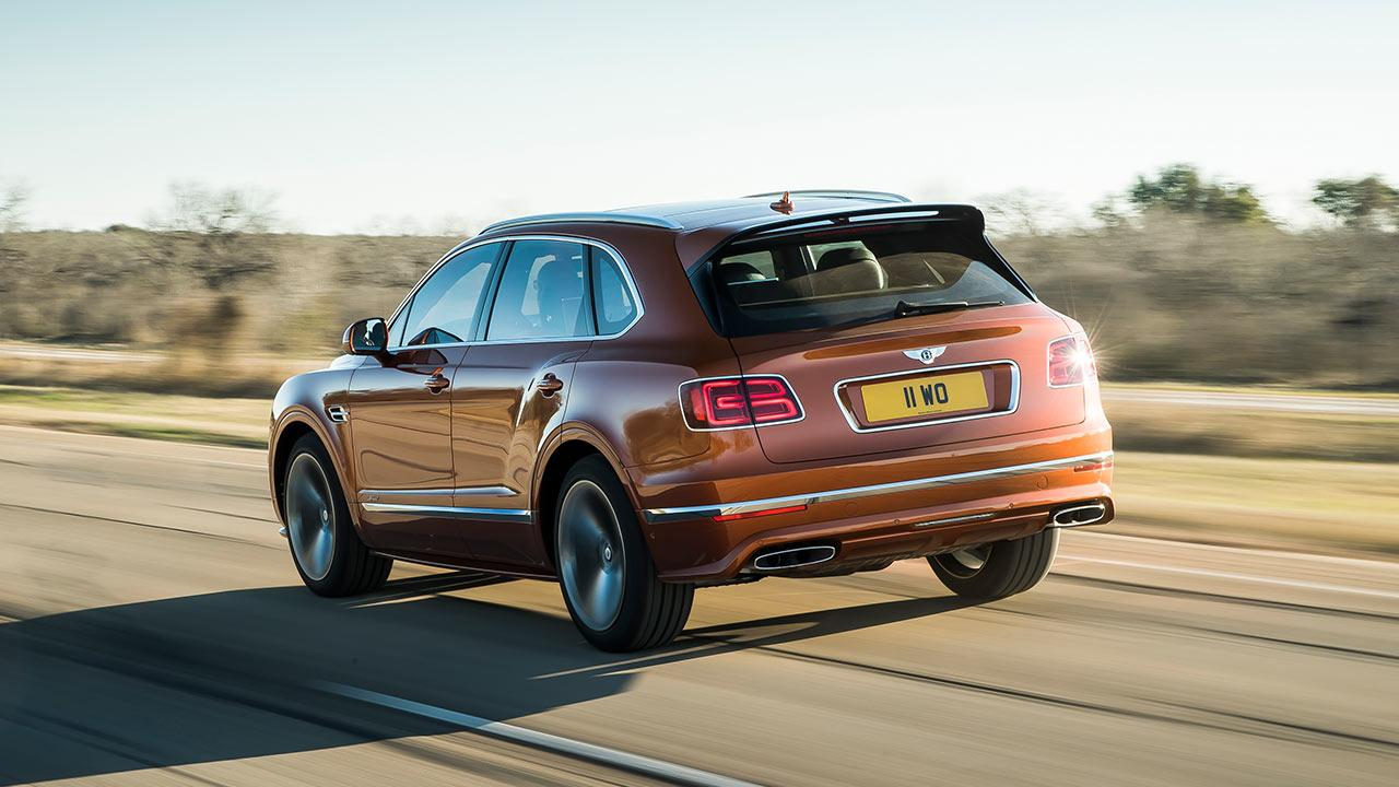 Bentley Bentayga Speed - Heckansicht