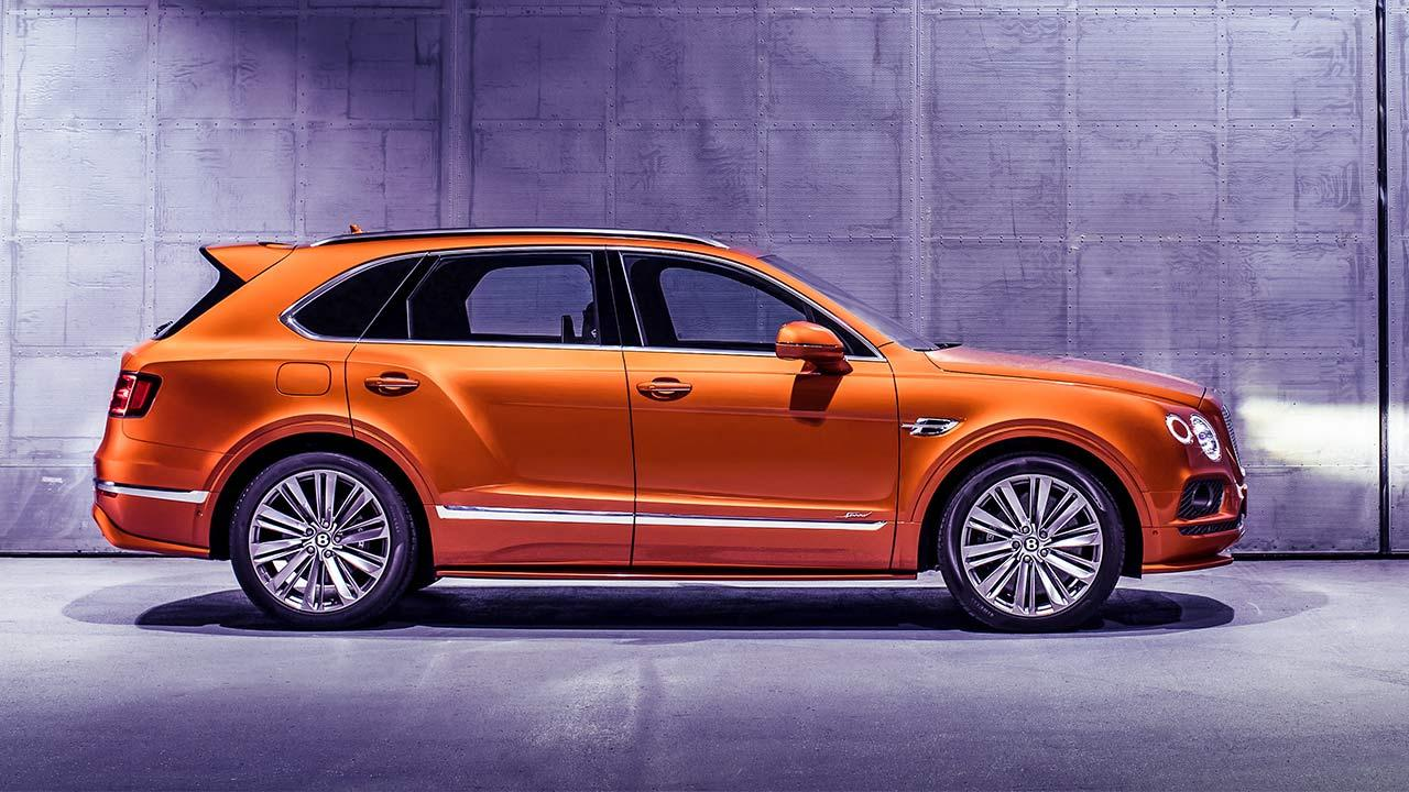 Bentley Bentayga Speed - Seitenansicht