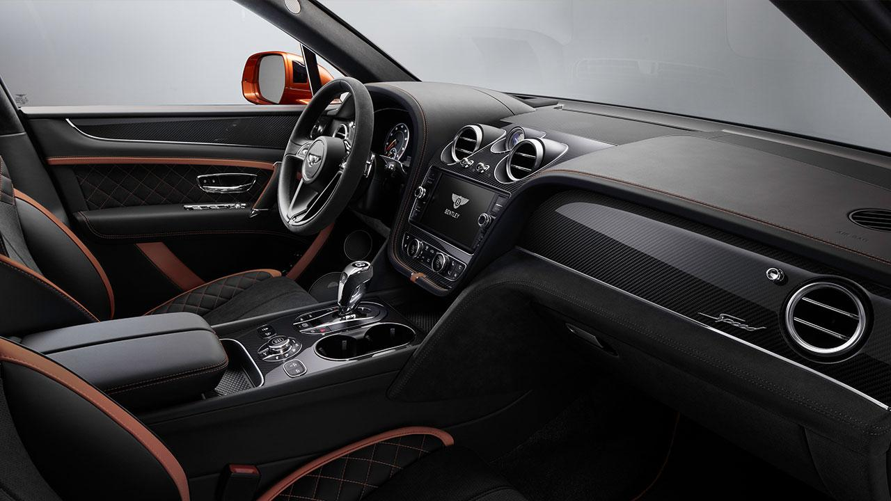Bentley Bentayga Speed - Cockpit