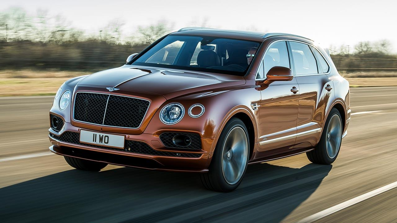 Bentley Bentayga Speed - in voller Fahrt