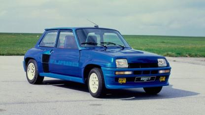 Renault 5 Turbo - in blau