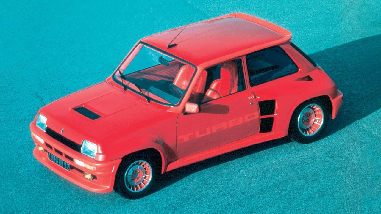 Renault 5 Turbo - rot