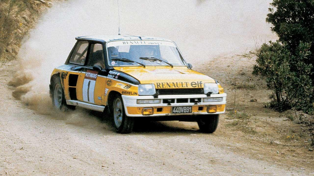 Renault 5 Turbo - auf der Rennstrecke