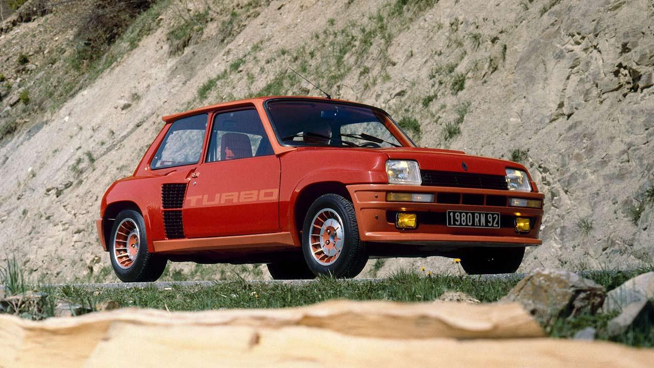 Renault 5 Turbo - am Strand