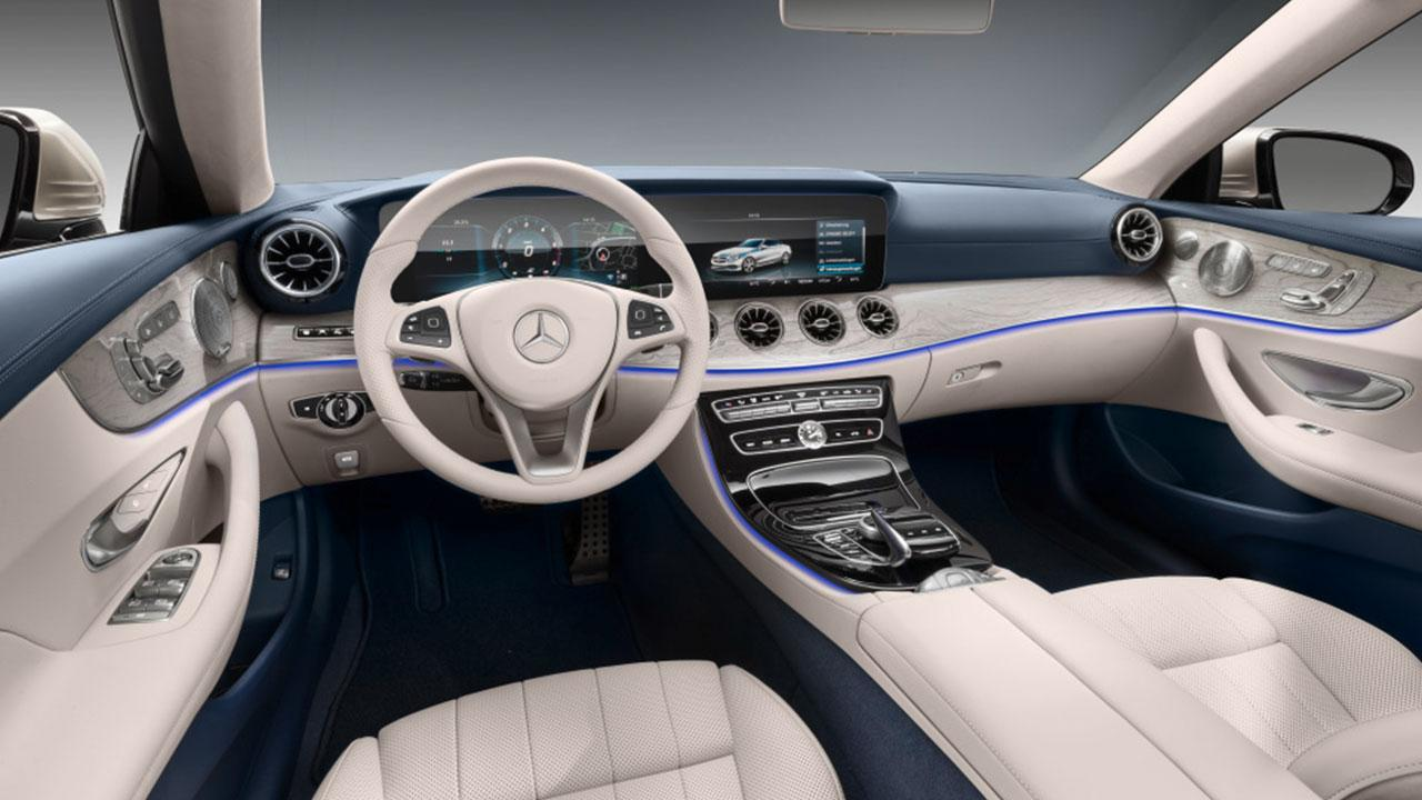 E-Klasse Cabriolet 2017 - Cockpit