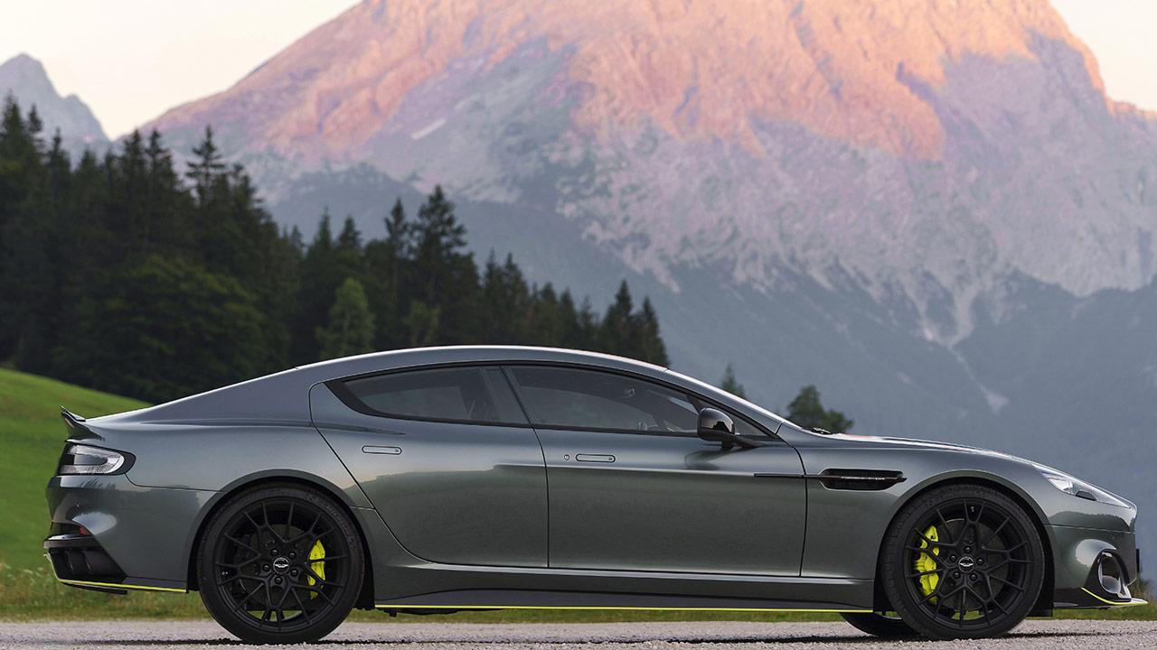 Aston Martin Rapide AMR - Seitenansicht