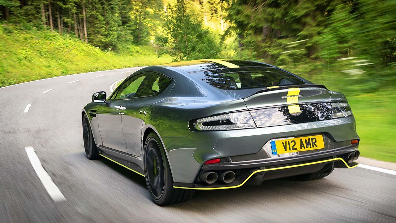 Aston Martin Rapide AMR - Heckansicht