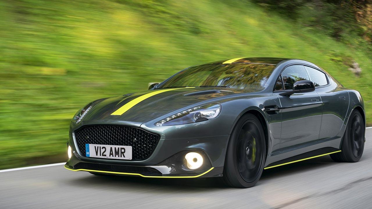 Aston Martin Rapide AMR - in voller Fahrt