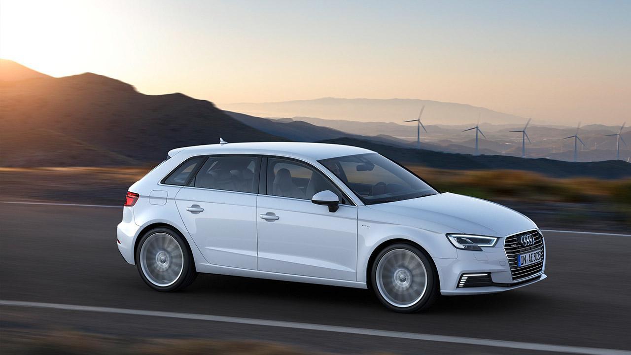 Audi A3 Sportback e-tron - im Morgenlicht
