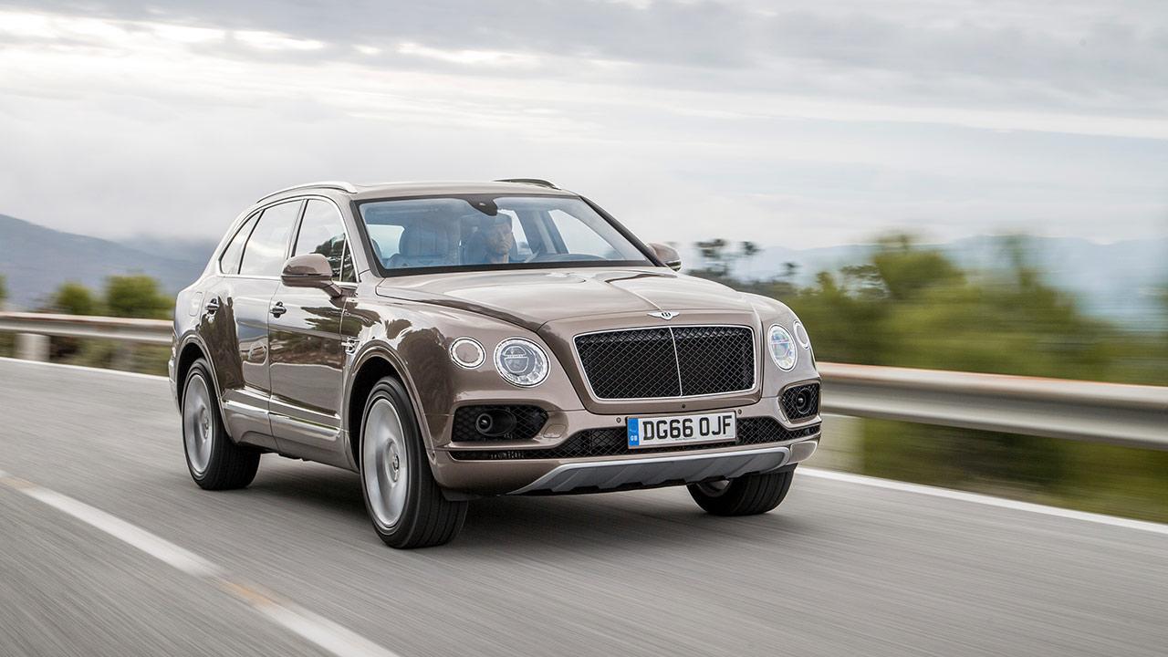 Bentley Bentayga Diesel - in voller Fahrt