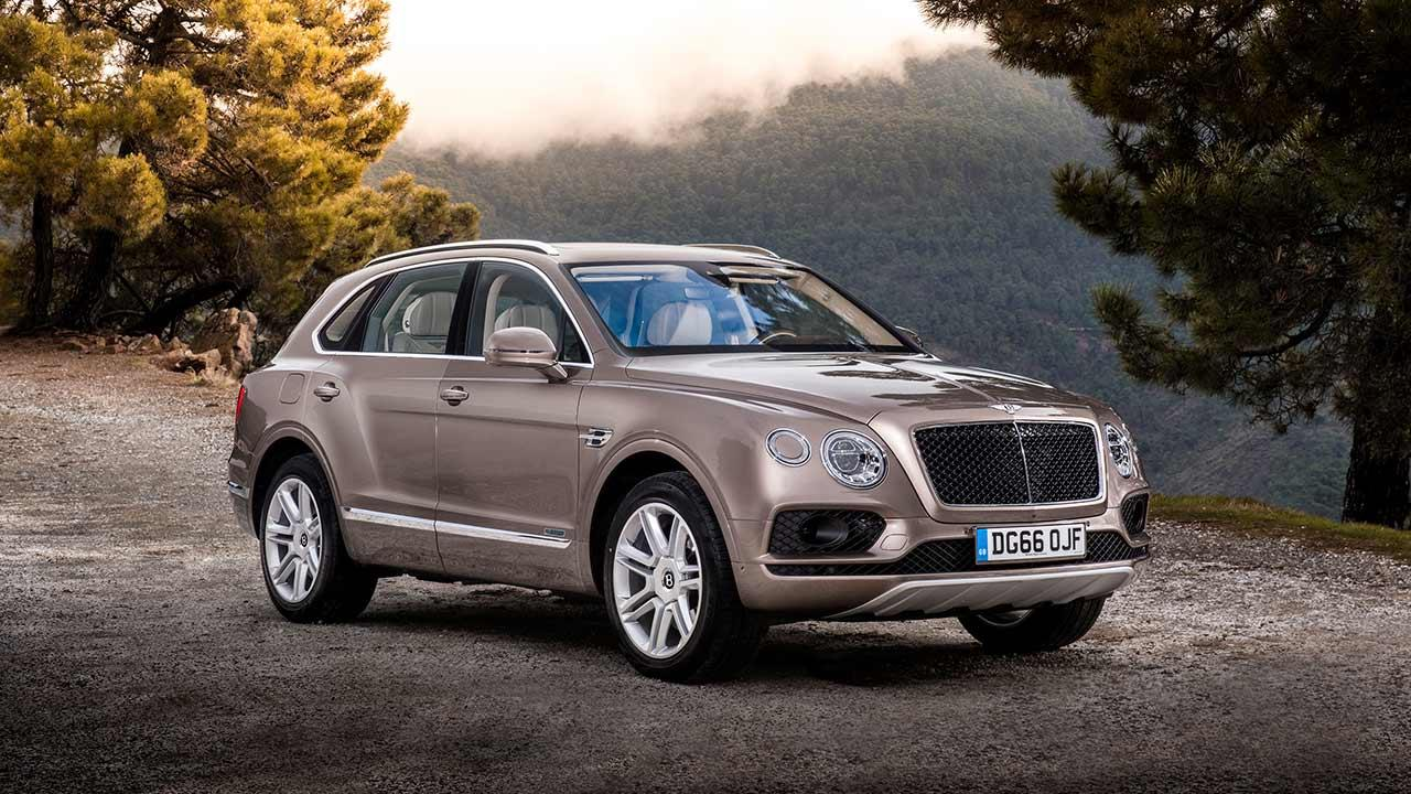 Bentley Bentayga Diesel - Frontansicht