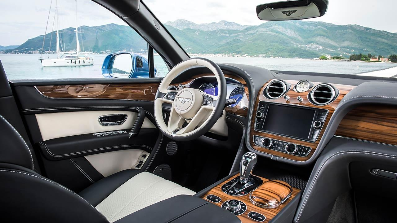 Bentley Bentayga Diesel - Cockpit