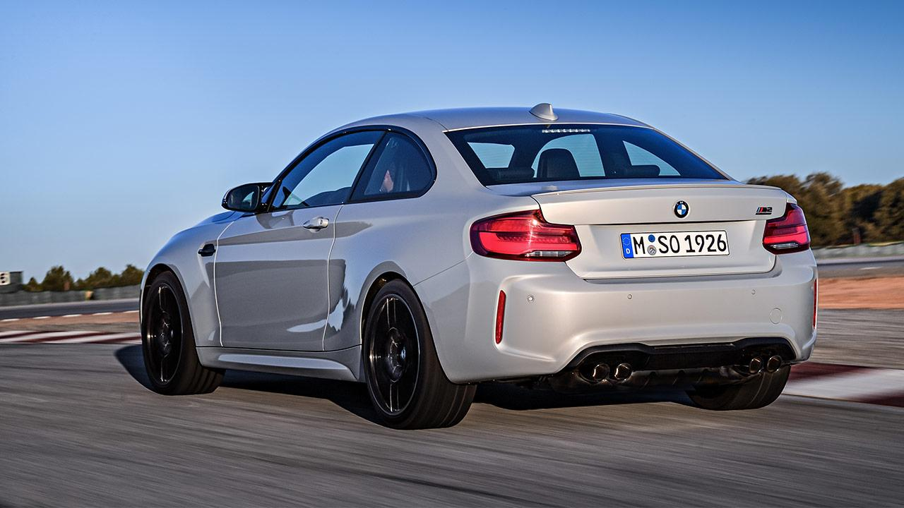 BMW M2 Competition -  Heckansicht